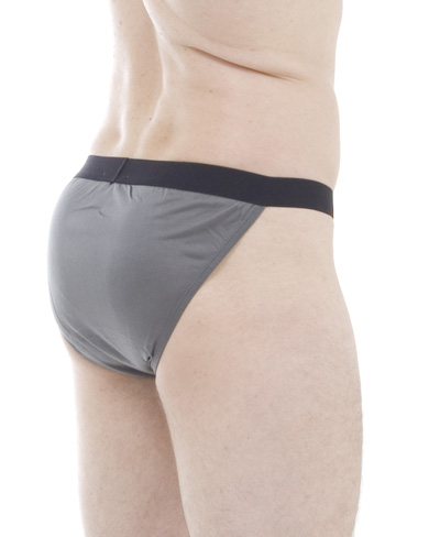 Pack of 4 Silk Elastic Waist Bikini Briefs