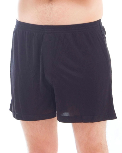 Set of 4 Solid Knit Silk Boxers
